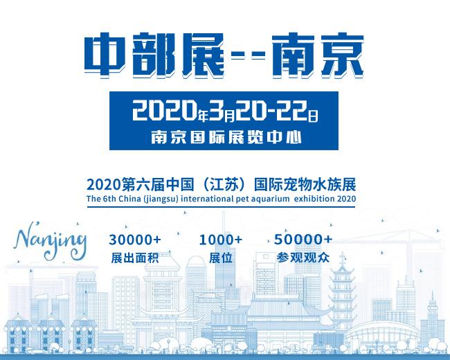 2020年第六届江苏南京宠物水族展会