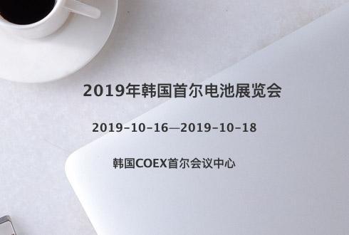 2019年韓國首爾電池展覽會