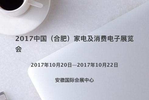 2017中国(合肥)家电及消费电子展览会