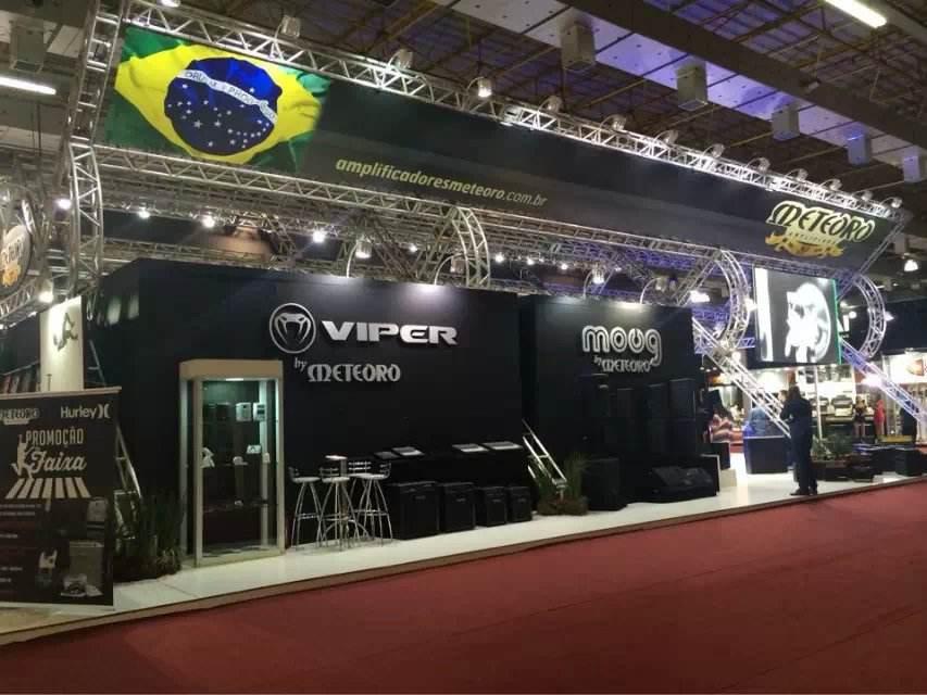 2018年墨西哥国际乐器舞台灯光及音响技术展览会