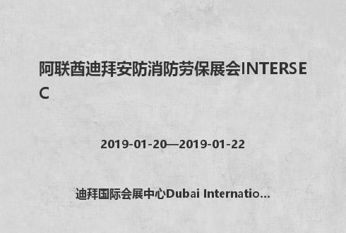 阿联酋迪拜安防消防劳保展会INTERSEC