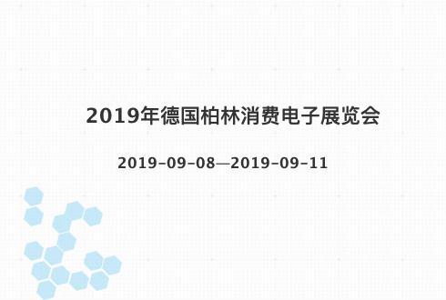 2019年德国柏林消费电子展览会