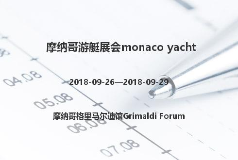 摩纳哥游艇展会monaco yacht