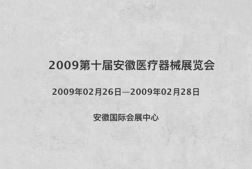 2009第十届安徽医疗器械展览会