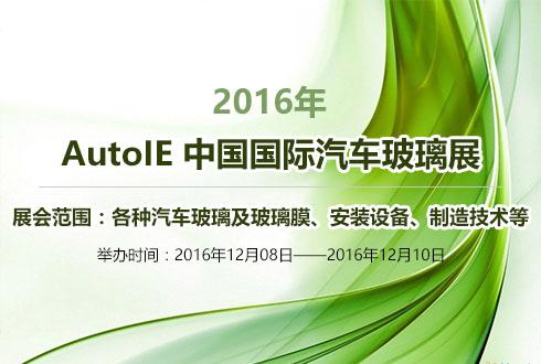 2016年 AutoIE 中国国际汽车玻璃展