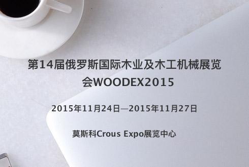 第14届俄罗斯国际木业及木工机械展览会WOODEX2015
