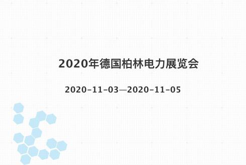 2020年德國柏林電力展覽會