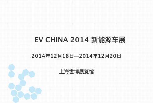 EV CHINA 2014 新能源车展
