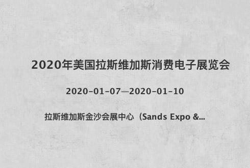 2020年美国拉斯维加斯消费电子展览会