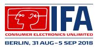 2019德国柏林消费类电子产品及家电展览会IFA