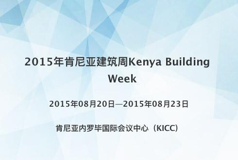 2015年肯尼亚建筑周Kenya Building Week