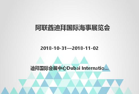 阿联酋迪拜国际海事展览会