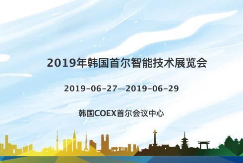 2019年韩国首尔智能技术展览会