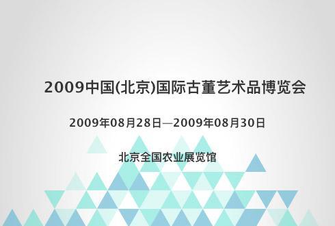 2009中国(北京)国际古董艺术品博览会