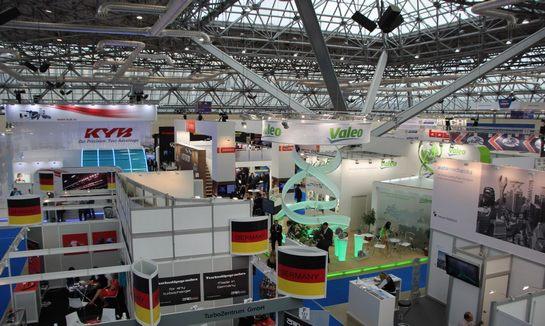 2017年德国斯图加特汽车零部件及发动机展