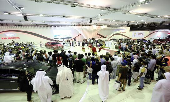 2018年阿联酋迪拜商用车展览会