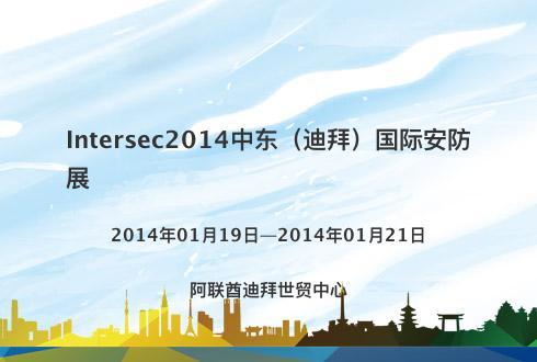 Intersec2014中东(迪拜)国际安防展