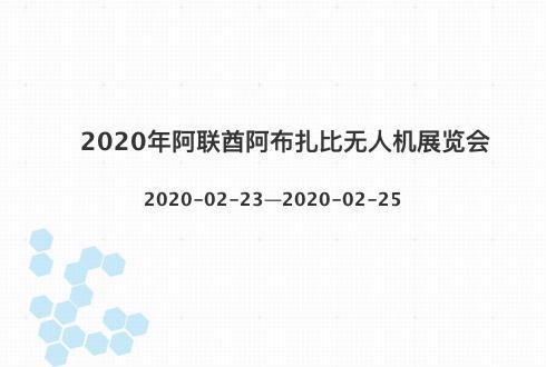 2020年阿联酋阿布扎比无人机展览会
