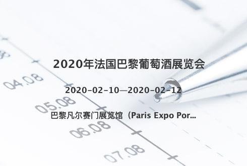 2020年法国巴黎葡萄酒展览会