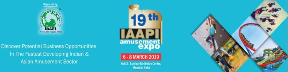 印度國際游樂設施展覽會IAAPI2019