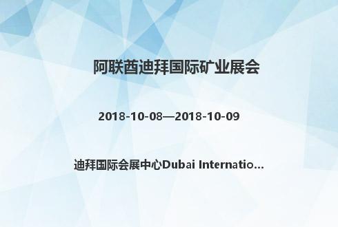 阿联酋迪拜国际矿业展会