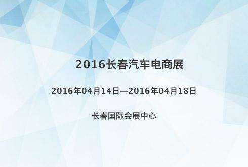 2016长春汽车电商展