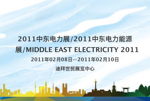 2011中东电力展/2011中东电力能源展/MIDDLE EAST ELECTRICITY 2011