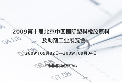 2009第十届北京中国国际塑料橡胶原料及助剂工业展览会