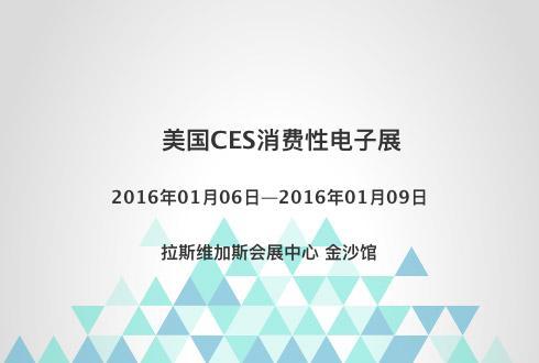 美国CES消费性电子展