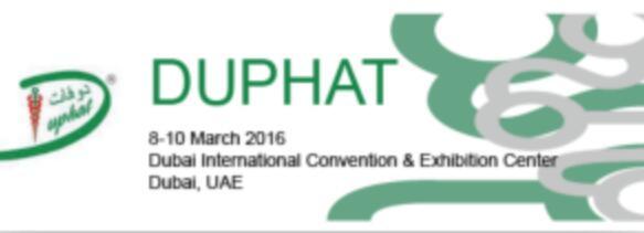 2020年第25届迪拜国际制药展DUPHAT
