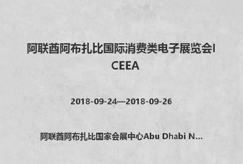 阿联酋阿布扎比国际消费类电子展览会ICEEA