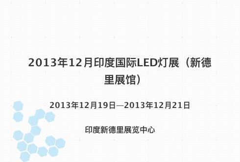 2013年12月印度国际LED灯展(新德里展馆)