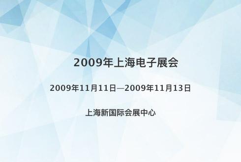 2009年上海电子展会