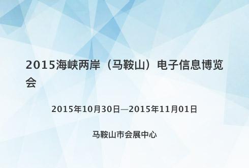 2015海峡两岸(马鞍山)电子信息博览会